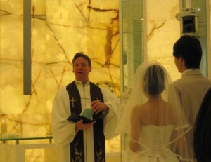 wedding ceremony  photo by y★u