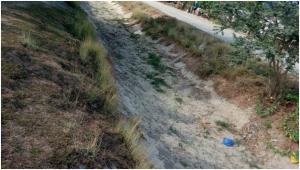 Caguray灌漑システムの灌漑用水路主要部